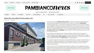 """Hind rileva la pelletteria fiorentina Gab"" su Pambianconews.com"